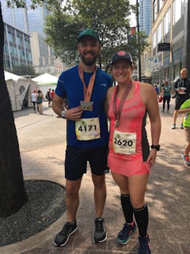 Marathon turned half