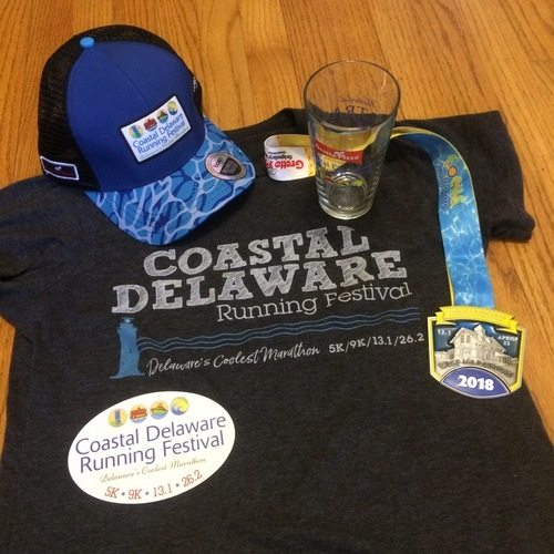 Awesome race with great swag!