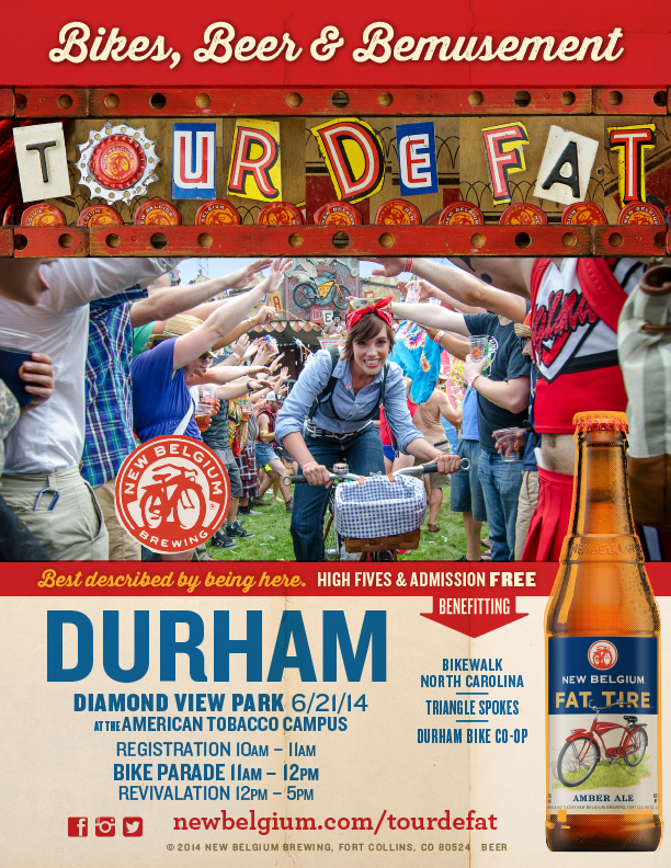 2014 Tour de Fat Durham