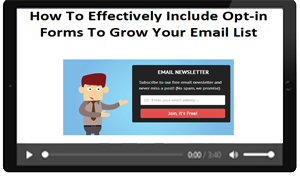 How To Create Opt-in Forms That Really Work