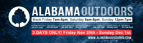 Alabama Outdoors Black Friday 2013