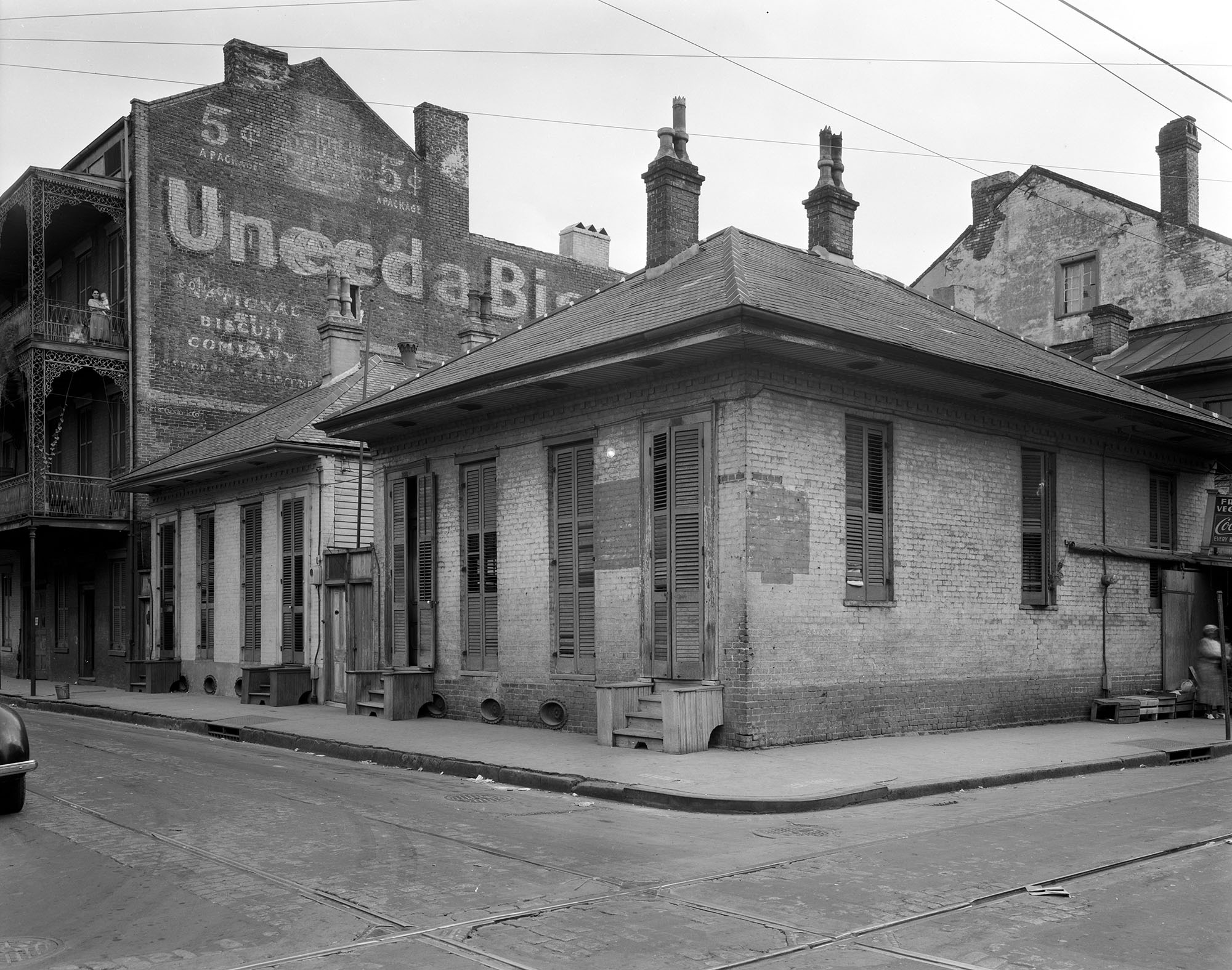 Dumaine St. at Bourbon, New Orleans, Orleans Parish, Louisiana