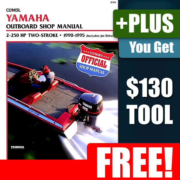 Yamaha 2 250HP Outboard Motor Engine Repair Manual on PopScreen