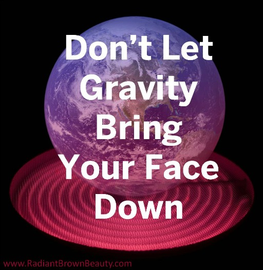 gravity's effect on your skin