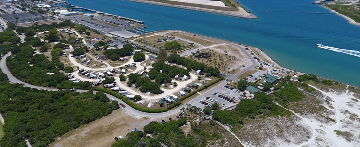 Jetty Park Beach And Campground