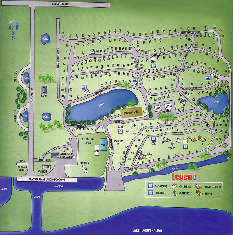 Nudist Resorts In Florida Map.Boggy Creek Resort And Rv Park