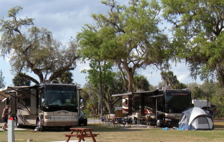 Tips for reserving a campsite in Florida