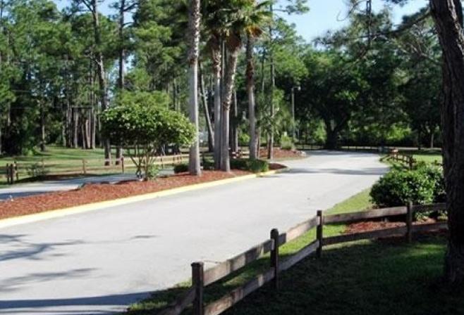 Map Sunshine Rv Resort Ormond Beach Florida