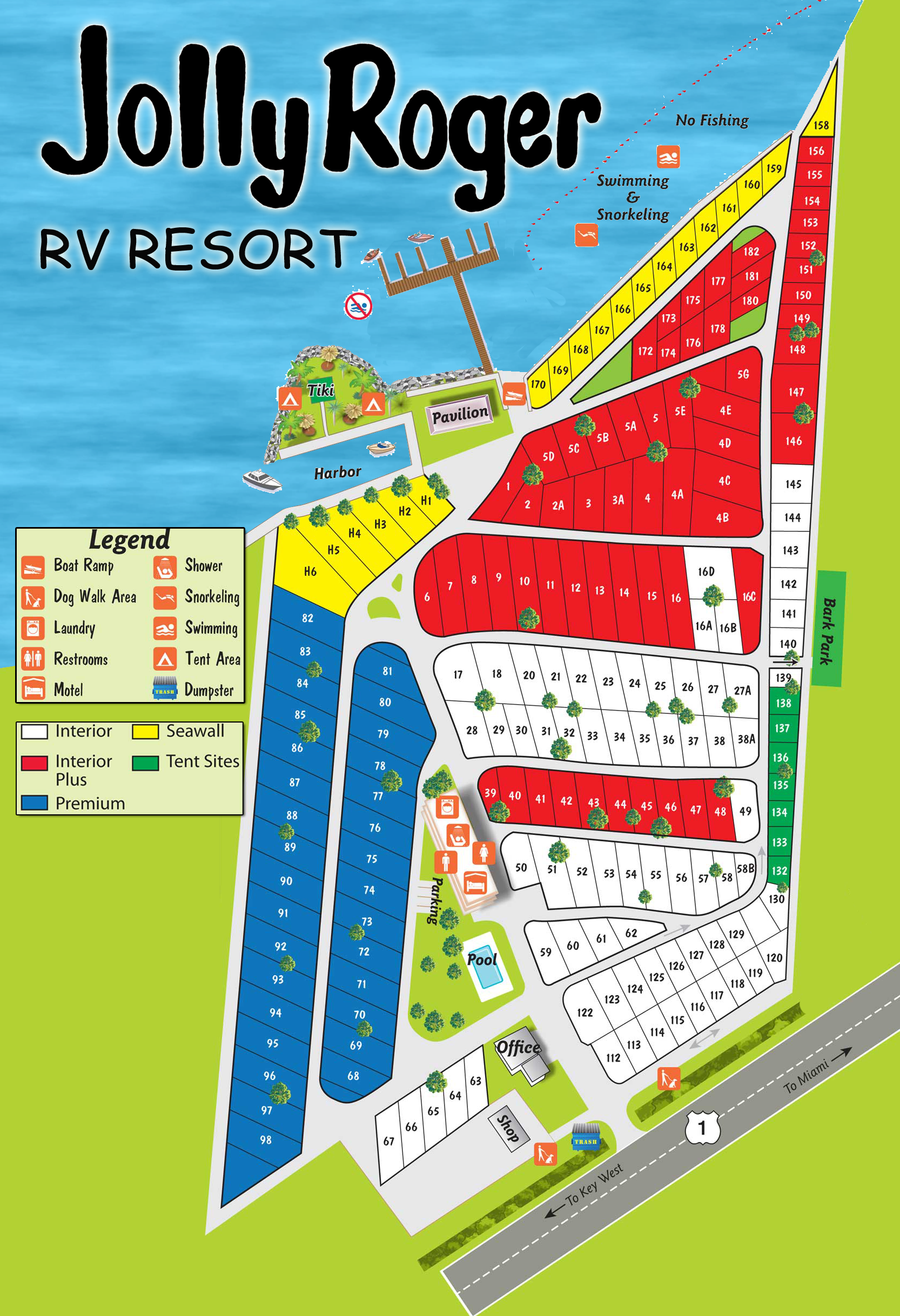 florida map of rv parks