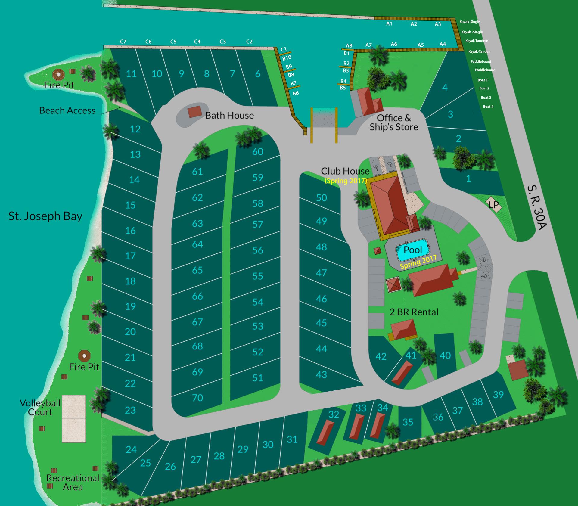 Presnell S Bayside Marina Amp Rv Park