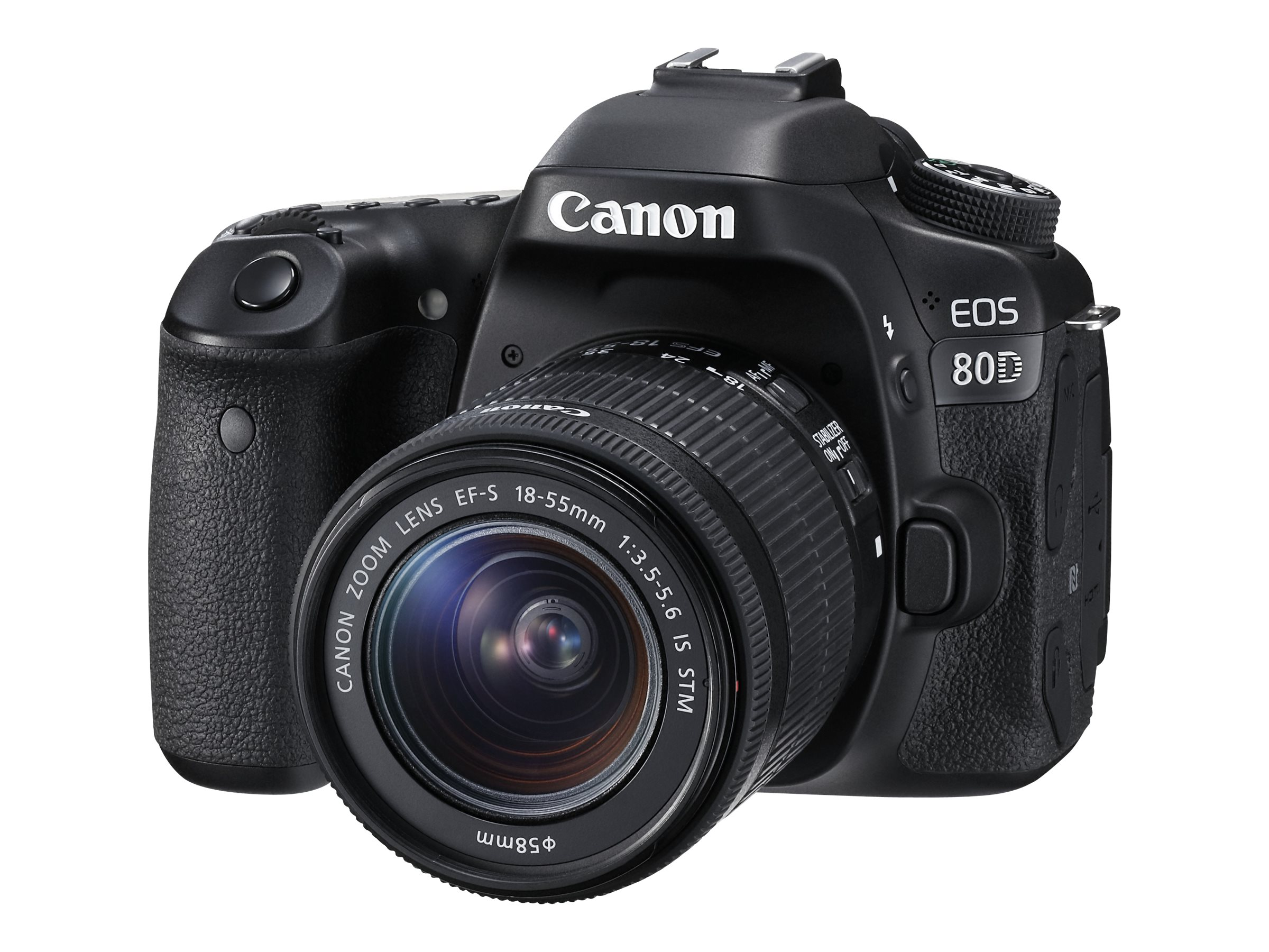 Image for Canon EOS 80D DSLR Camera with 18-55mm Lens from Circuit City