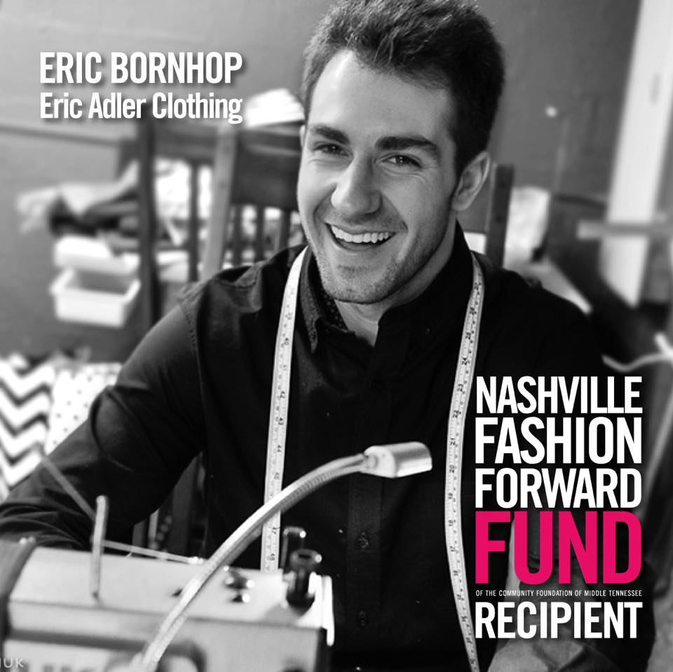 Nashville Fashion Forward Fund 2015 Award Recipient - Eric Adler Clothing