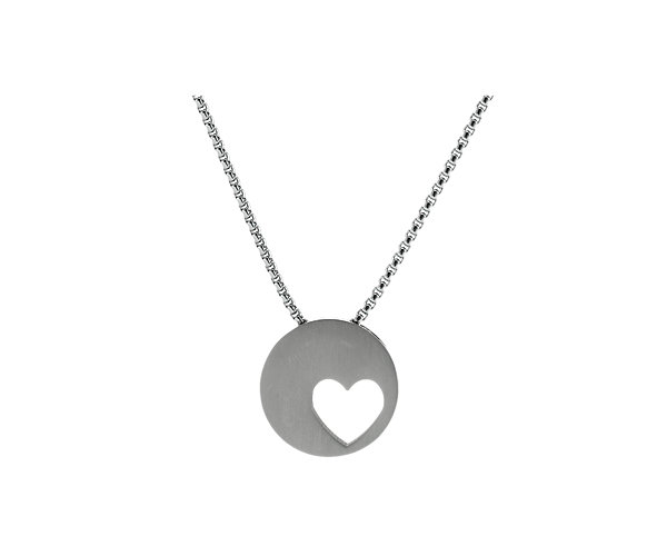 Eternity Heart Pewter (J5141) $135