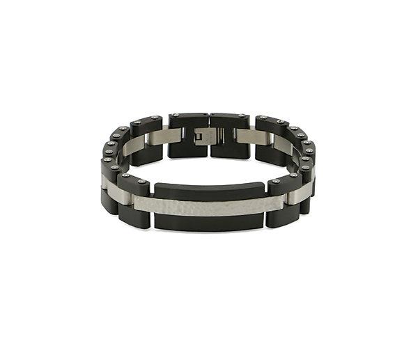Cable Link Bracelet Onyx (J5201) $168