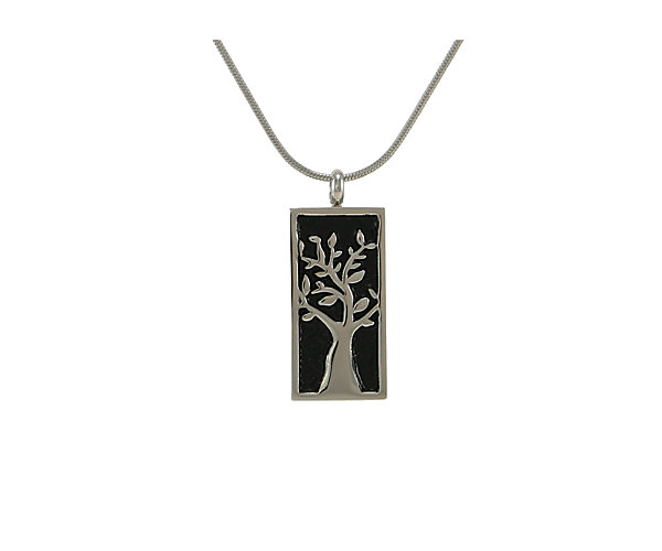 Embossed Tree Pewter (J5111) $135