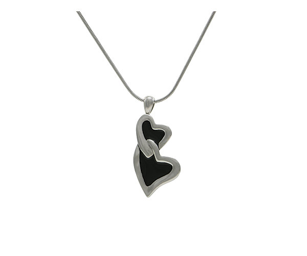 Companion Infinity Hearts Pewter (J5135) $135