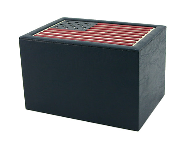 Star Spangled Banner Flag Urn (CMB801L) $156