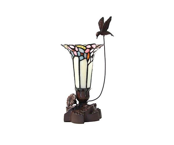 Pink Bouquet Lilies Lamp Keepsake (C660K) $204