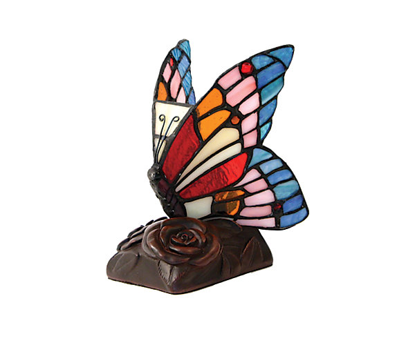Blue Butterfly Lamp LED (C682K) $180