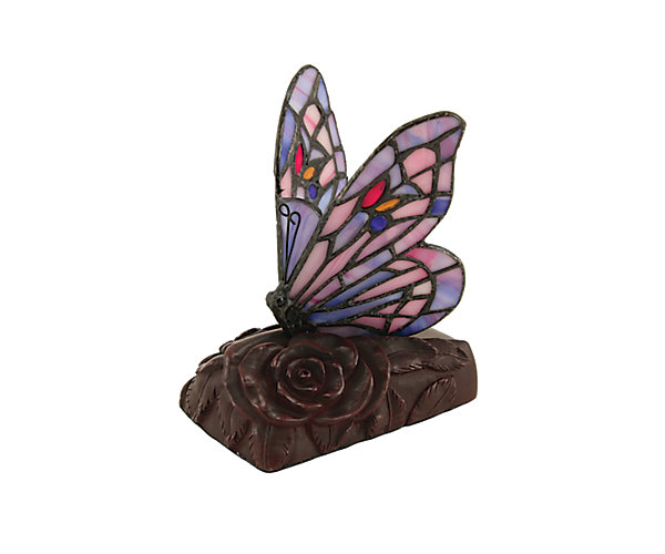 Purple Butterfly Lamp LED (C683K) $180