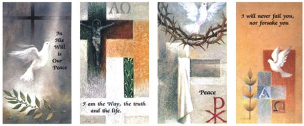Protestant Dove - Set of 4