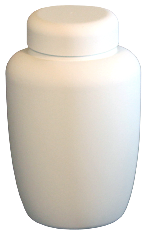 Cornstarch, White $ 149.00 6.75 Dia. x 10.25 H (238 Cubic Inches) (Engraving additional starting at $ 49.00 for 3 lines of text)