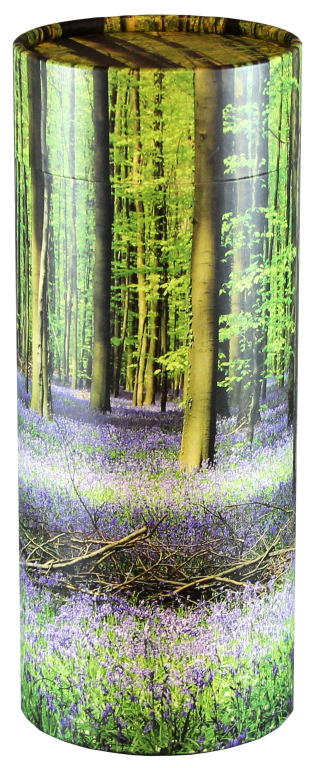 Bluebell Forest $ 95.00 (Engraving additional starting at $ 49.00 for 3 lines of text) 5.1 Diameter x 12.6 H (200 Cubic Inches)