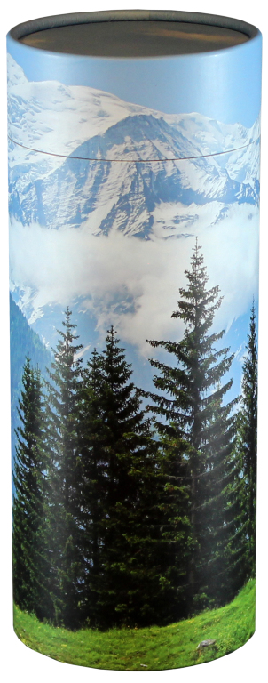 Mountain View  95.00 Engraving additional starting at  49.00 for 3 lines of text 5.1 Diameter x 12.6 H 200 Cubic Inches
