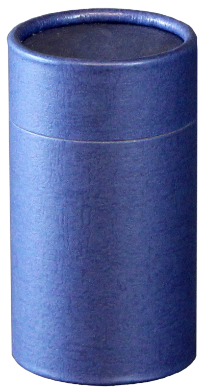 Navy MINI Scattering Urn $ 45.00 2.95 Dia. x 5.25 H (20 Cubic Inches) (Engraving additional starting at $ 49.00 for 3 lines of text)