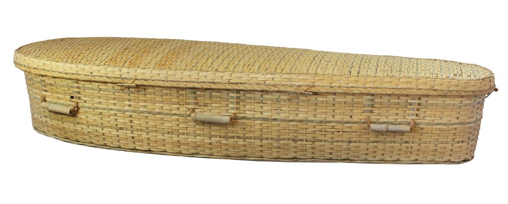 Bamboo Casket  1,495.00 Interior 70 L x 20 W x 12 H Exterior 77 L x 24 W x 12 H