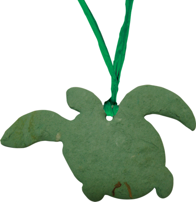 Sea Turtle Forget Me Not Blooming Ornaments  75.00 per 20