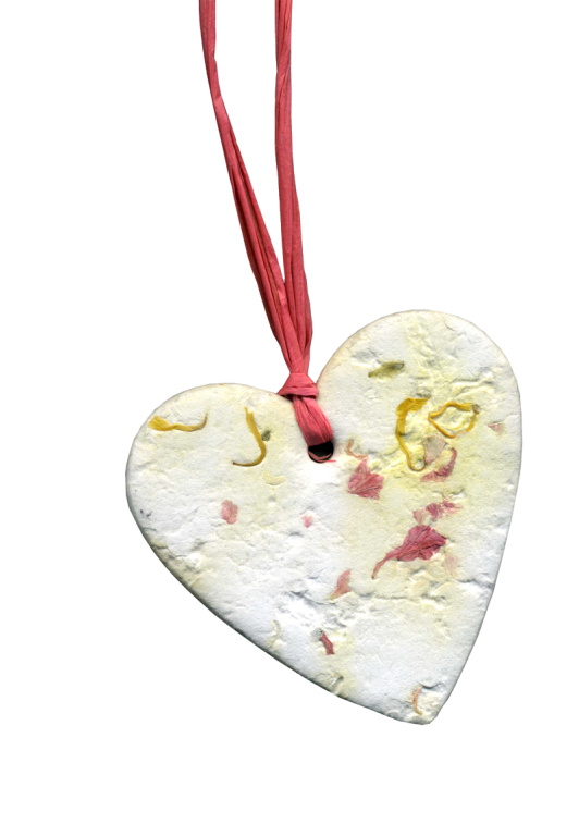 Heart Wildflower Blooming Ornaments  75.00 per 20