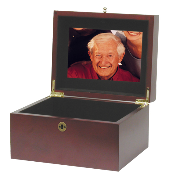 Memory Chest Cherry $ 123.00 9.7 W x 6.2 H x 7.8 D, 240 (Cubic Inches)