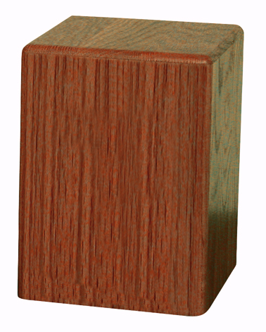 "The Statesman Solid Dark Oak $ 191.00 (6.3"" W x 8.5"" H x 6.3"" D (200 Cubic Inches)"