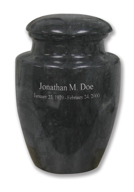 Royal Black $ 235.00 11 H x 7.8 Dia (200 Cubic Inches) / Keepsake size $ 42.00 2 Dia x 3 H