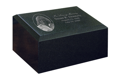Cremation Monument  538.00 -  598.00 12W x 8D x 7H 200 Cubic Inches