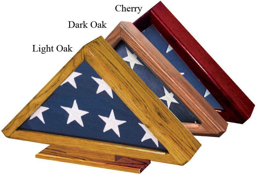 Premium Flag Case with Pedestal $ 165.00 - $ 175.00 24W x 15 H x 4 D With Pedestal