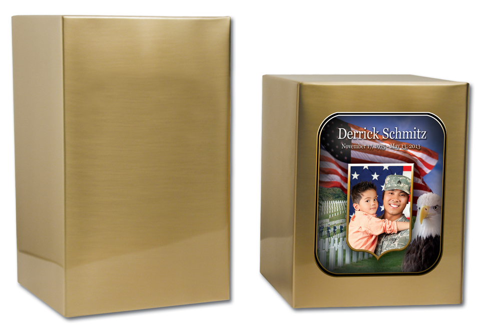 "Sheet Bronze Full Size 30-D-61-B $ 134.00 5.7""w x 5.7""d x 7""h, (212 Cubic Inches)"