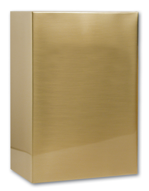 Sheet Bronze Full Size 60B $ 118.00 5.7w x 5.7d x 9h, (272 Cubic Inches)