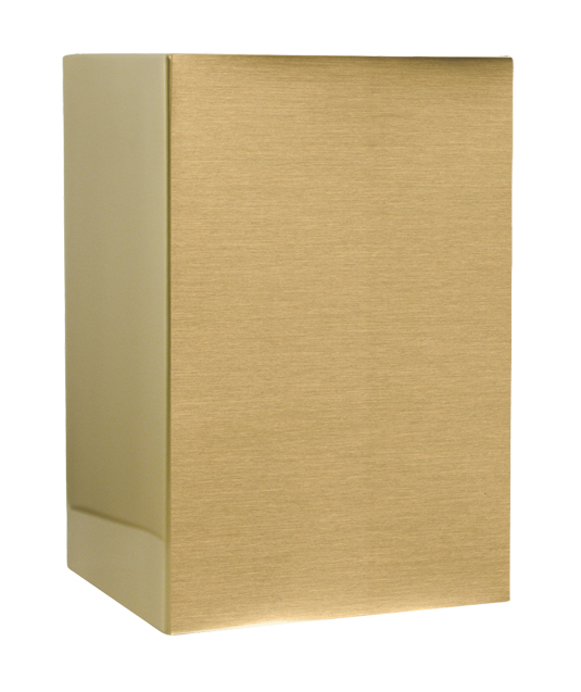 Sheet Bronze Urn Medium $ 106.00 6w x 3d x 8.75h, (150 Cubic Inches)