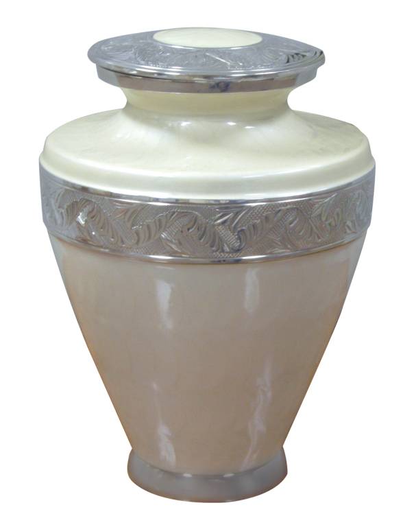 Silver Pearl $ 188.00 10 H. x 7.25 Dia., (200 Cubic Inches) Keepsake size $ 30.00 3 H x 1.75 Dia.