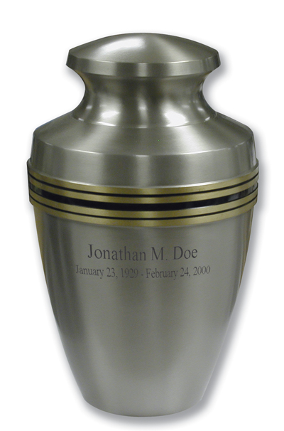 Pewter Grecian $ 188.00 11.9 H x 7.6 Dia, (200 Cubic Inches) Keepsake size $ 30.00 3 H x 1.75 Dia.