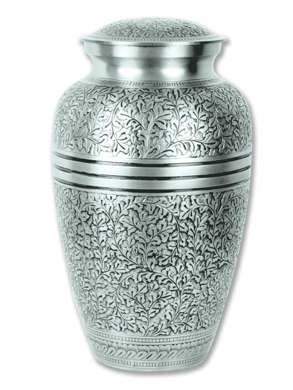 Silver Oak $ 188.00 10.5 H x 6 Dia, (200 Cubic Inches) Keepsake size $ 30.00 3 H x 1.75 Dia.