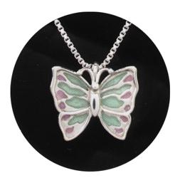 """Silver Butterfly $ 286.00  1 3/16"""" x 1 1/16"""""""