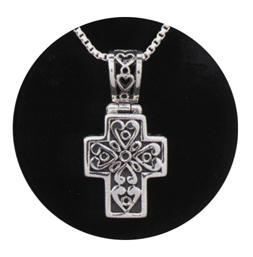 """Filigree Cross $ 234.00 5/8"""" x 3/4"""""""