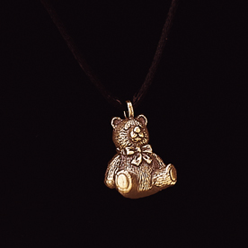 "Teddy Bear $ 135.00 5/8"" x 3/4"""