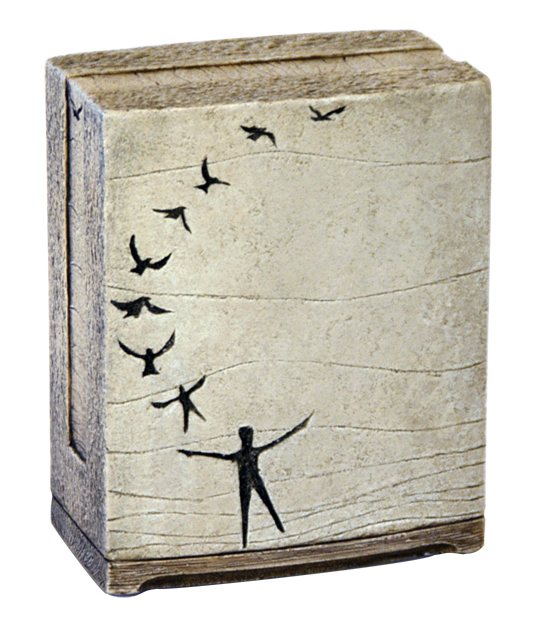 In Flight Keepsake $ 111.00 3.5 W x 4.375 H x 2.25 D (1 Cubic Inch)