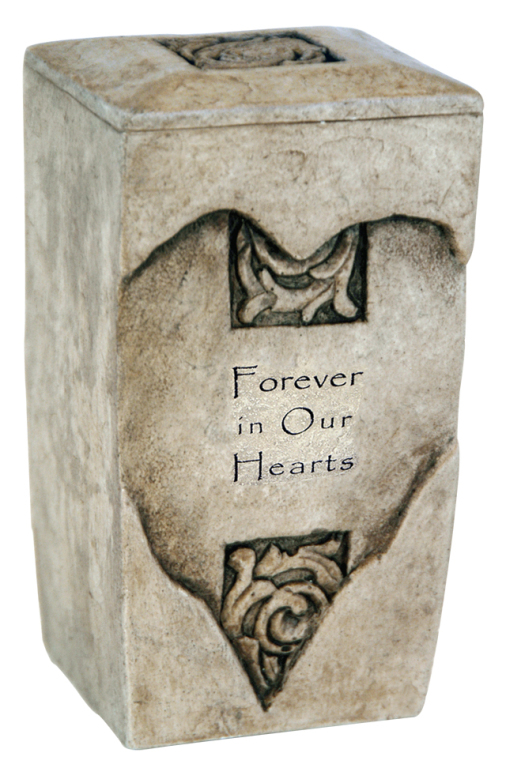 Forever Heart Keepsake  111.00 2.25 W x 2 D x 4 H 1 Cubic Inch