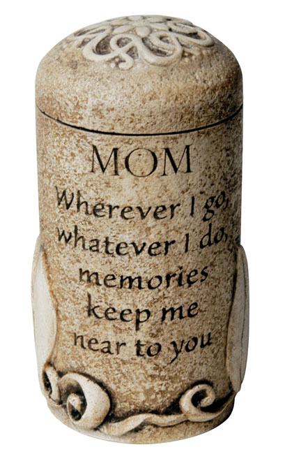 Mom Keepsake $ 111.00 3.6 H x 2.6 W ( 1 Cubic Inch)