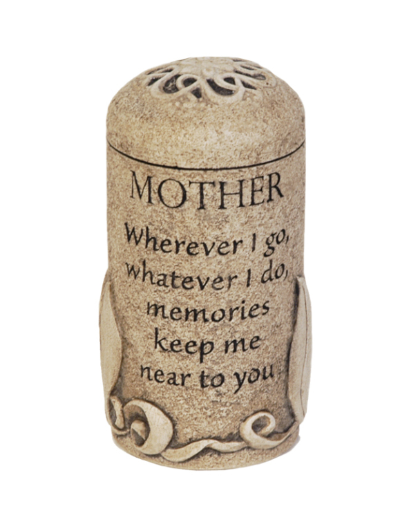 Mother Keepsake $ 111.00 3.6 H x 2.6 W ( 1 Cubic Inch)